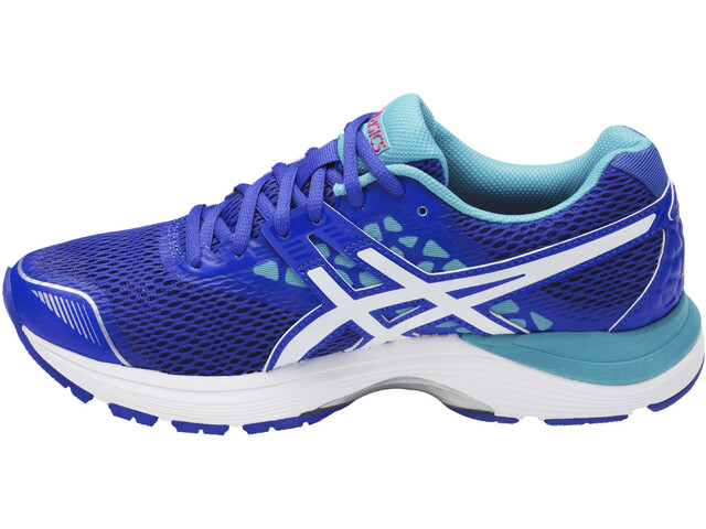 asics Gel-Pulse 9 Shoes Women blue purple/white/aquarium